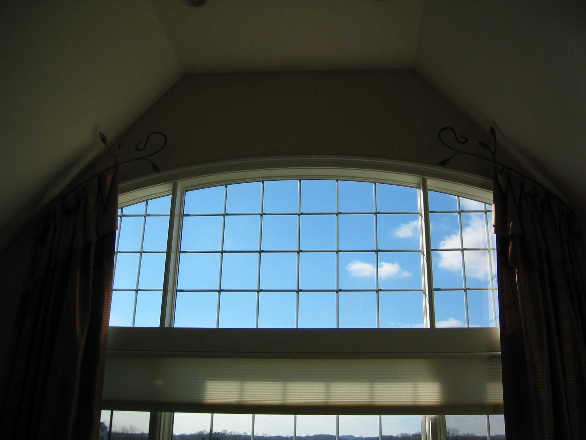 Window treatments for 2 story window treatments
