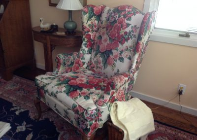Reupholstering Project